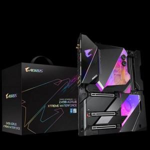 Gigabyte представила топовую плату чипсета Z490 с водоблоком Aorus XTREME WATERFORCE