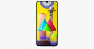 Samsung Galaxy F41 показали на схематическом рендере