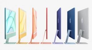 Новый iMac получил процессор M1 и семь расцветок корпуса