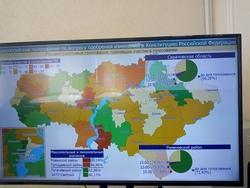 Поправки. В районе проголосовали больше 90% избирателей