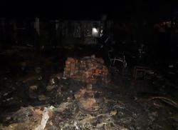 При пожаре на даче погибли 3 человека