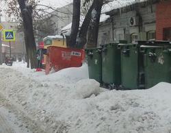 Регоператор: время рейсов мусоровозов из-за непогоды увеличилось на 25%