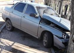 'Десятка' сбила женщину на тротуаре