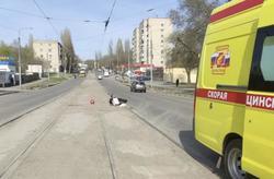 Полиция ищет очевидцев наезда мотоцикла на женщину