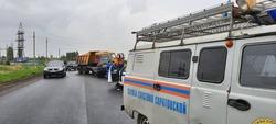 В столкновении с 'КАМАЗом' погиб водитель 'Мицубиси'