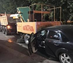 В ночном ДТП с 'КАМАЗом' погиб мужчина