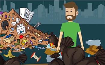 «400 кг мусора в год на человека»: левобережный оператор рассказал о расходах красноярцев за обращение с ТКО