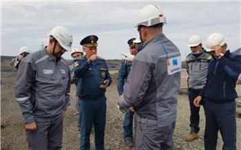 Замглавы МЧС проверил ход ликвидации последствий ЧП в Норильске