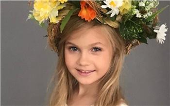 Пятилетняя девочка из Красноярска стала самой красивой сразу в двух конкурсах красоты