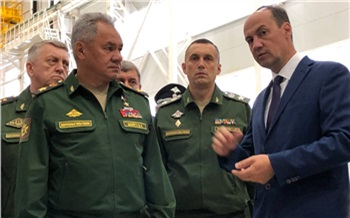 В Красноярск прилетел министр обороны России Сергей Шойгу
