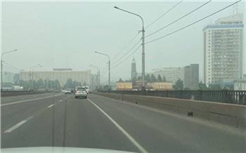 В Красноярске из-за лесных пожаров на трое суток ввели режим «черного неба»