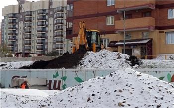 Аварийную подпорную стену в красноярском Покровском ликвидируют уже к ноябрю