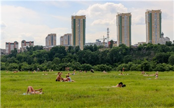 В Красноярск на два дня пришла 30-градусная жара