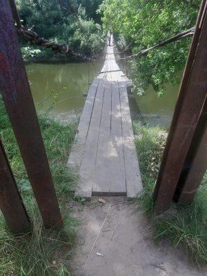 Мост в Брянском районе благополучно отметил вторую годовщину завершения ремонта