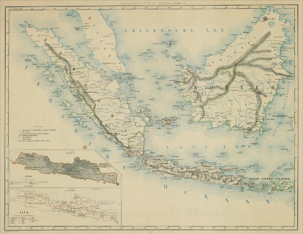 Открыт онлайн-доступ к старинным картам Азии
