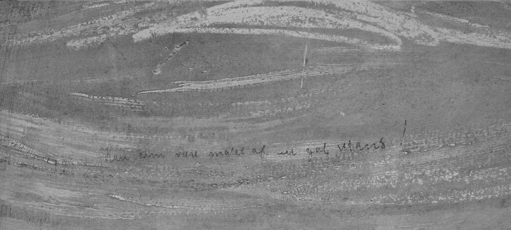 Эдвард Мунк оставил на «Крике» оскорбительную надпись