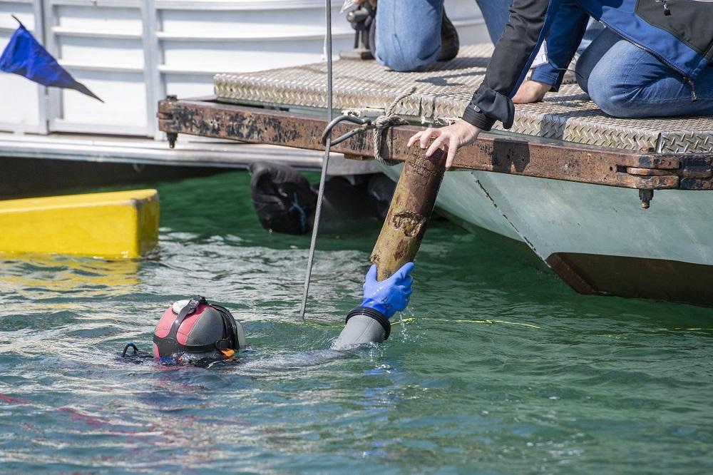В швейцарском озере найдено затонувшее древнее поселение