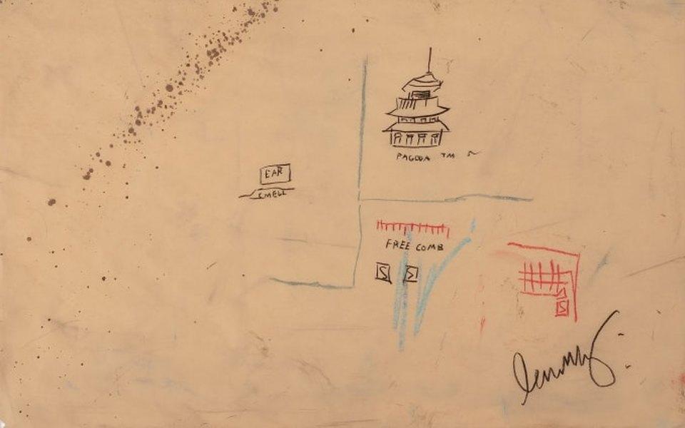 Работу художника Жан-Мишеля Баския сняли с аукциона