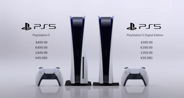 PlayStation 5 выйдет 19 ноября от 37 990 рублей