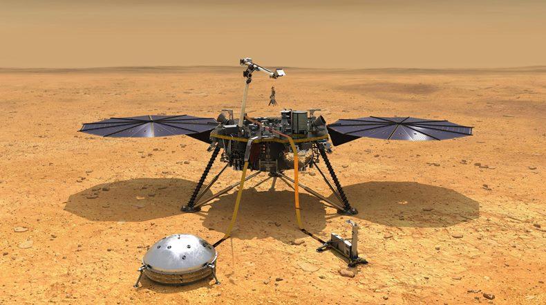 Посадочный модуль НАСА InSight фиксирует на Марсе таинственные «марсотрясения»