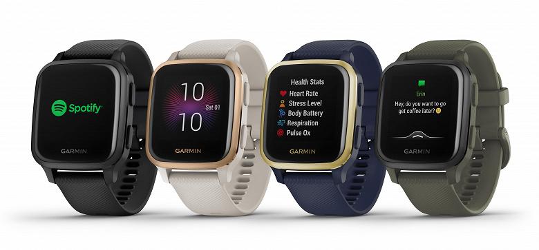 Представлены смарт-часы Garmin Venu Sq, копирующие дизайн Apple Watch