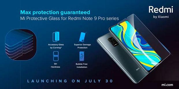 Xiaomi выпустила сверхпрочные стекла для Redmi Note 9 Pro и Note 9 Pro Max