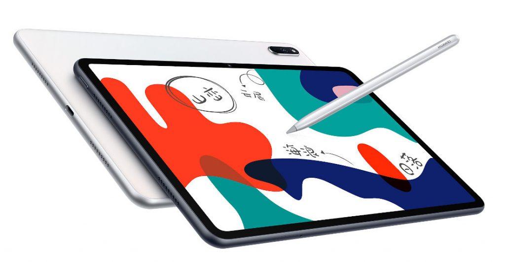 Huawei представила планшет MatePad 5G 10.4 с чипом Kirin 820 и четырьмя динамиками