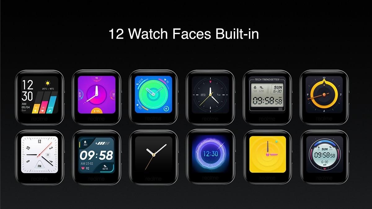 Представлены бюджетные смарт-часы Realme Watch