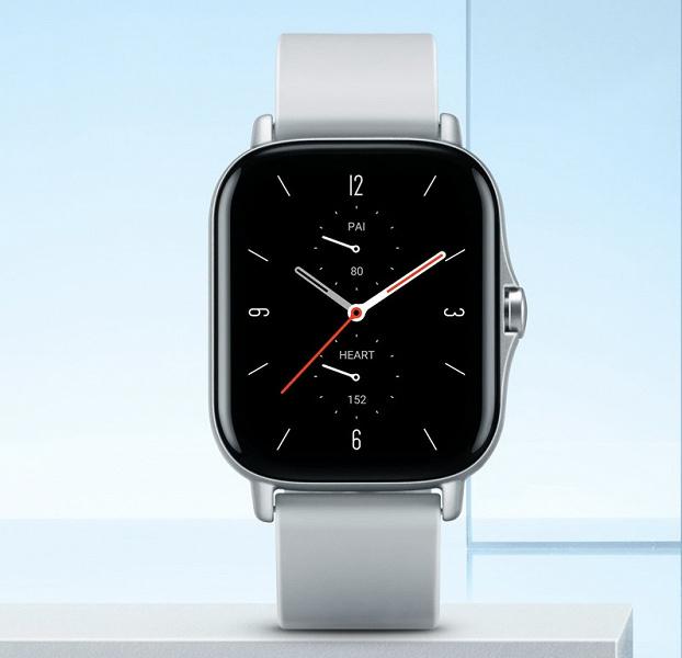 Представлены смарт-часы Amazfit GTS 2 в стиле Apple Watch