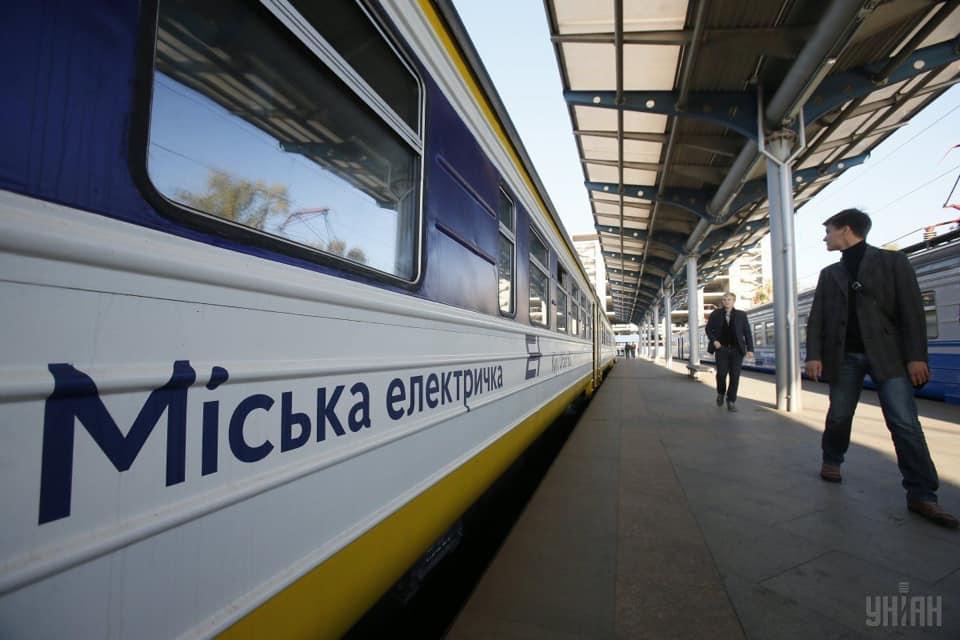 В Киеве с завтрашнего дня восстанавливается кольцевое движение городской электрички