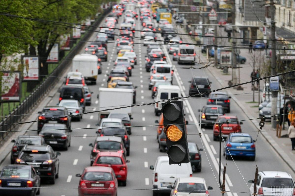 Пробки в Киеве: что происходит в среду утром на столичных дорогах и мостах