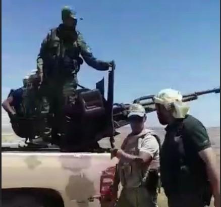 Разорвало на части: появилось видео ликвидации российского генерала в Сирии (видео 18+)
