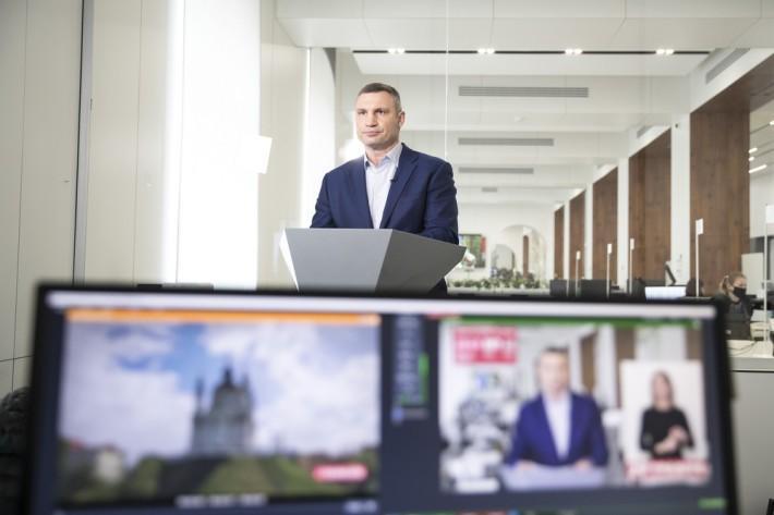 Киев уже готов к холодам – мэр Кличко