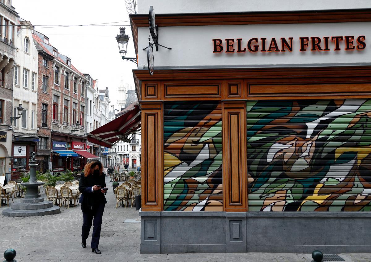 Бельгия вводит комендантский час и усиливает карантин из-за коронавируса