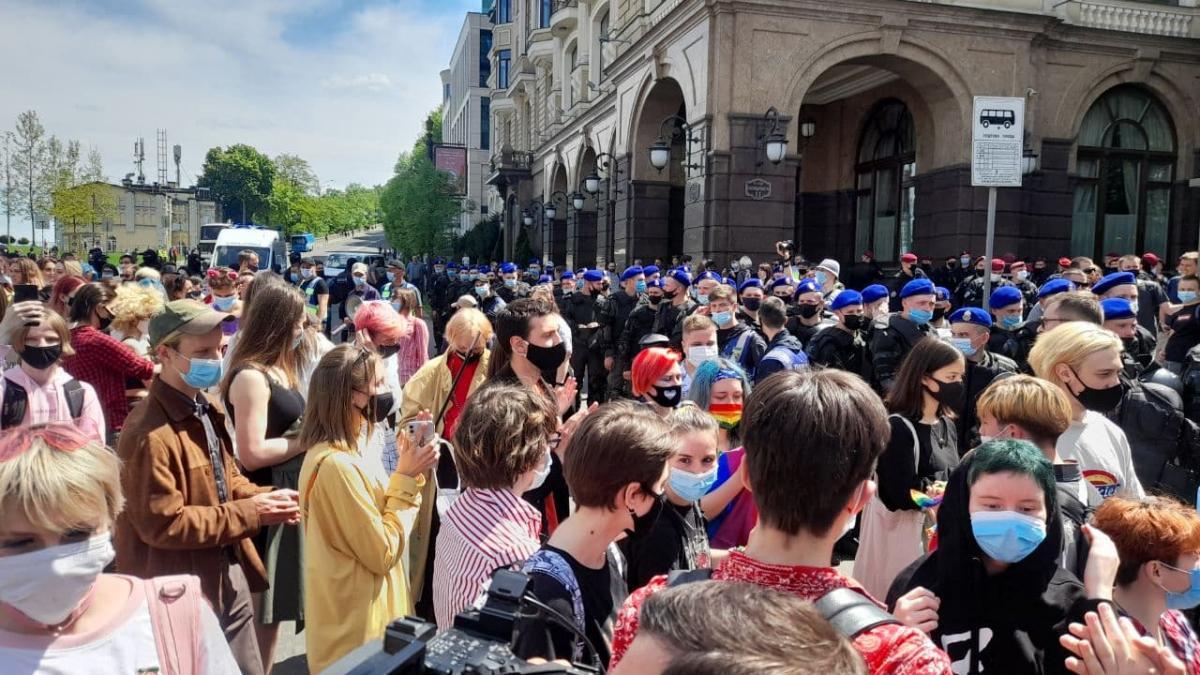 Без нарушений общественного порядка, задержанных нет: в Киеве завершилась акция в поддержку трансгендеров