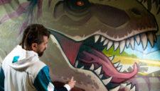 Мощное проявление любви: как мастер стрит-арта из Кузбасса покорил весь мир