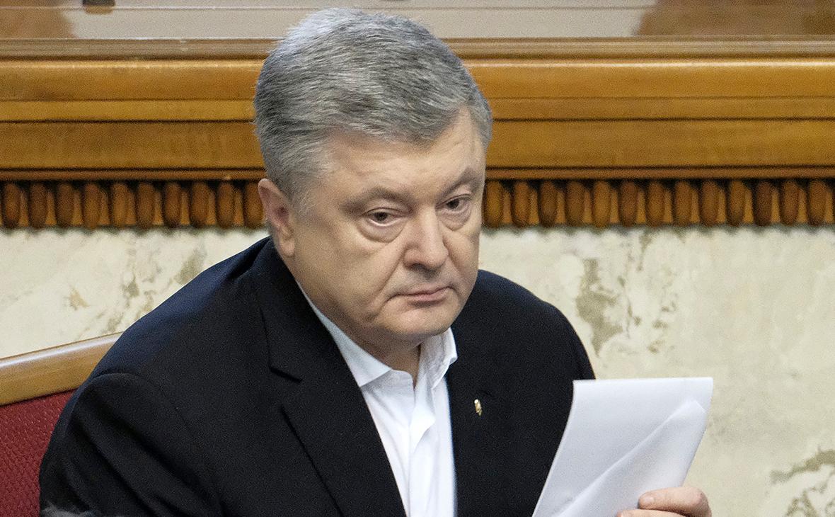 Порошенко заявил об операции Кремля при участии офиса Зеленского