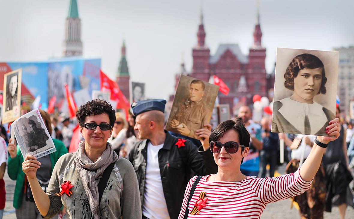 Путин перенес акцию «Бессмертный полк» на День ВМФ