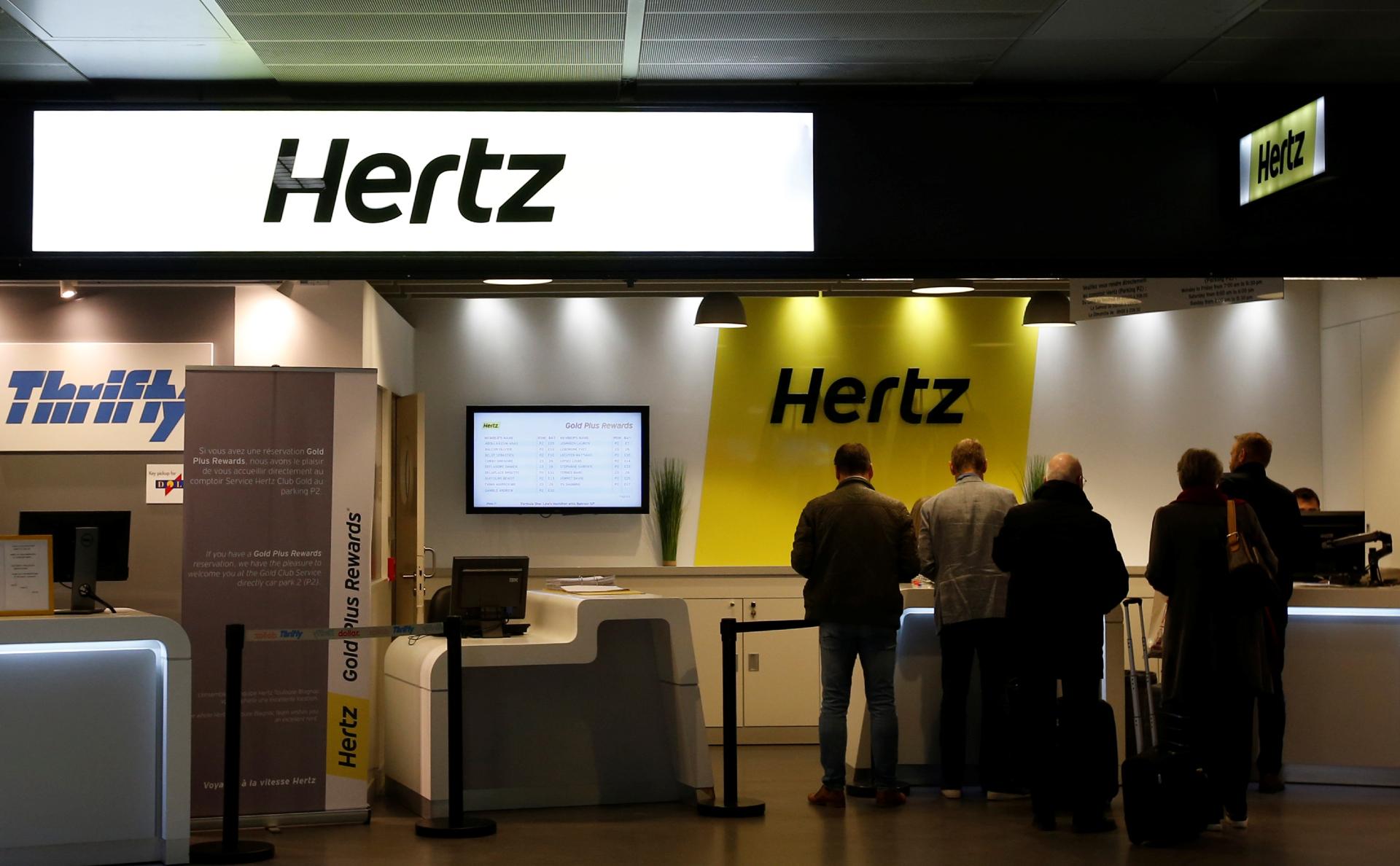 Сервис аренды автомобилей Hertz подал заявление о банкротстве
