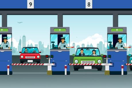 Проект нового порядка организации проезда по платным дорогам: 'свободный поток', постоплата и другие нововведения