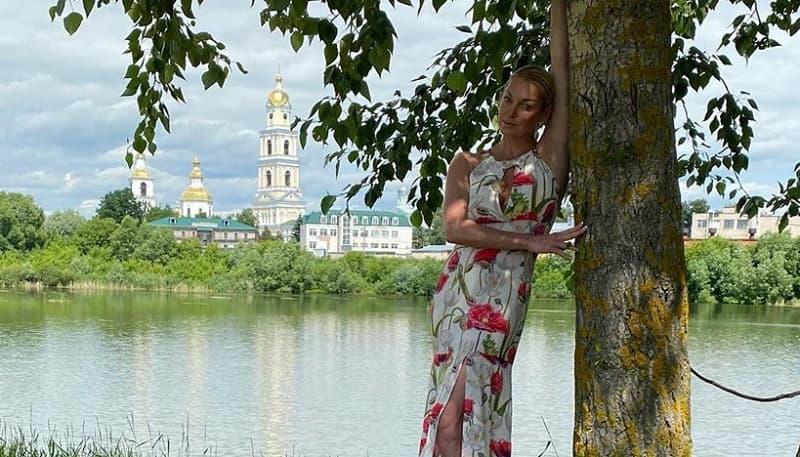 Волочкова прокомментировала скандал с полицией в Дивеево