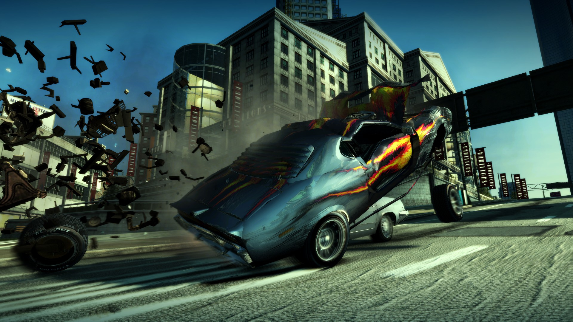 Burnout Paradise Remastered примчится на Nintendo Switch в июне