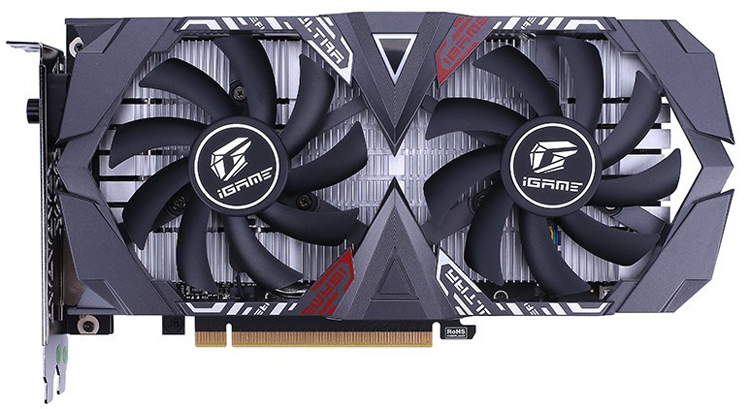 Трио видеокарт Colorful GeForce GTX 1650 с памятью GDDR6