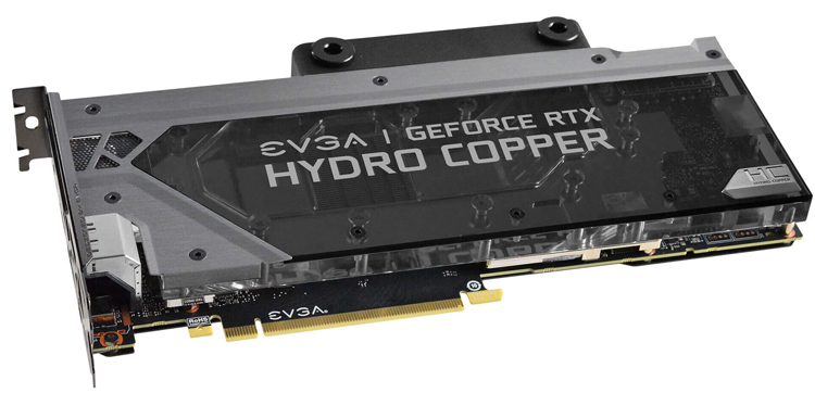 Ускоритель EVGA GeForce RTX 2080 Ti XC Hydro Copper Gaming стоит $1450