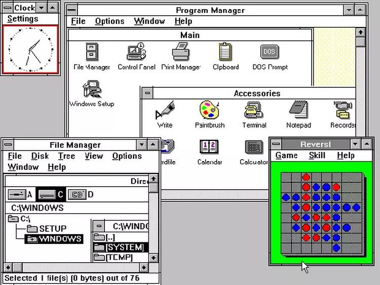 Операционной системе Windows 3.0 исполнилось 30 лет