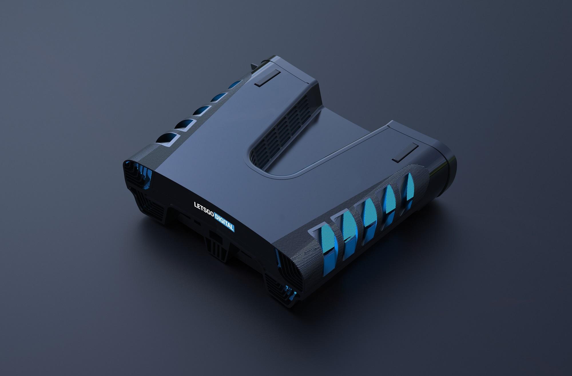 Инсайдер: PlayStation 5 выглядит как классическая консоль, только вдвое толще PS4 Pro и имеет необычную деталь