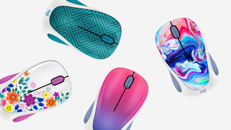 Мыши Logitech Design Collection имеют необычное оформление