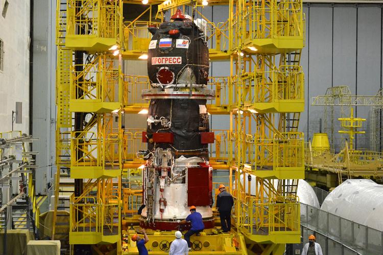 Орбиту МКС скорректируют перед прибытием грузового корабля «Прогресс МС-15»
