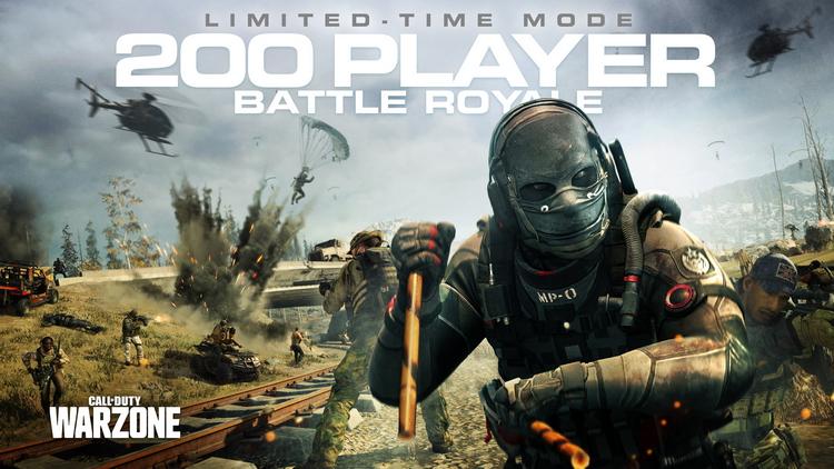 Четвёртый сезон Call of Duty: Warzone добавил в игру режим на 200 человек