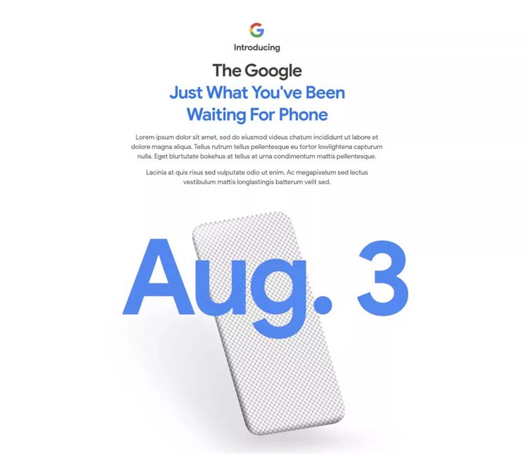 Прогноз блогера совпал с датой анонса Pixel 4a, указанной Google в тизере
